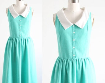 Vintage Seafoam Green Dress