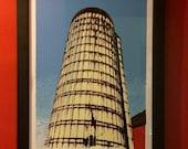 American Silo Limited Edition Signed Original Large Silkscreen Art Print Poster