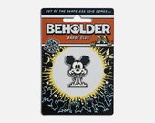 The Beholder Badge Club : Nukey - Enamel Badge