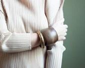 on the border indian gold bangle bracelet / ethnic bracelet / oversized bracelet / 570a