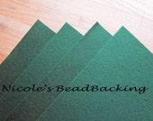 Nicoles BeadBacking 4 pack 12x9 Leaf Green