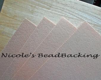 Nicoles BeadBacking 4 pack 12x9 Mocha Cream