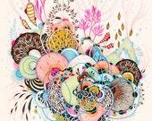 Giclee Fine Art print - Glimpse - Print
