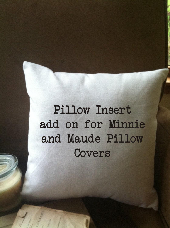 Rectangular Pillow Inserts - Polyester / 08