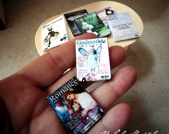 Miniature Fairy Godmother Magazines PDF download collage sheet file with tutorial link