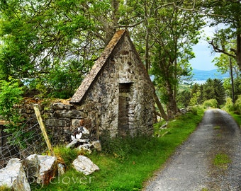 Inishowen, Co. Donegal, Irish Ruin, Beautiful Ireland Landscape, Old Cottage, Amazing Grace Country, Mamore Gap, Irish Famine, Padre Pio