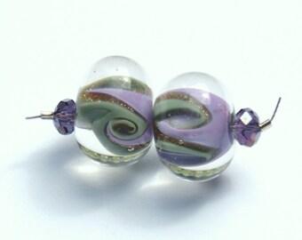 Purple swirls destash