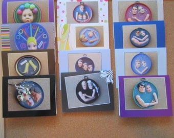 SALE. - One Dozen (12) Assorted  Barbie and Ken Greeting Cards