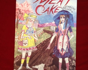 Meat Cake , Number Three, Dame Darcy , Fantagraphics , Alternative , comics , comix , zines , gothic , lolita , dark fantasy , avante guarde