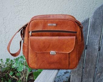 Vintage Samsonite Messenger Carry-On Tote Bag Luggage Camera Bag