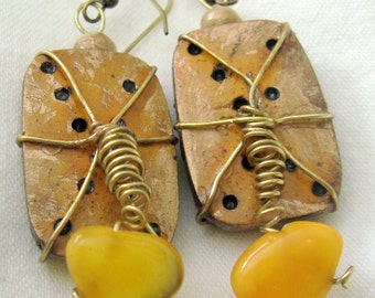 The Yolk Gourd Earrings