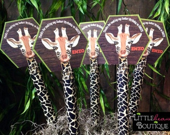 Printable Safari party favor, DIY, Giraffe Candy favor, African Safari Favor, jungle party favor,Safari party favor, Safari party ideas