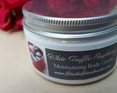 White Truffle Raspberry - Moisturizing Cream - Hand and Body Cream - Raspberry Lotion