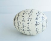 Beautiful Decorated ostridge egg