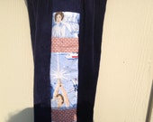 One Left...Retro STAR WARS patchwork pants for boys...size 6 months, 12 months, 18 months, 2t, 3t, 4t, 5, 6, 7, 8..Made to