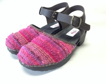 Create your own Handwoven Mary jane  Clog-