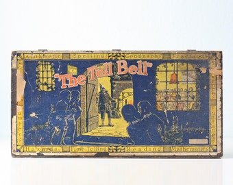 Vintage Game, The Tell Bell, Antique Wizard School Game