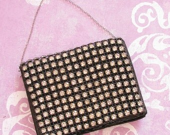 An Evening on the Town...Glam Vintage Rhinestone Evening Purse