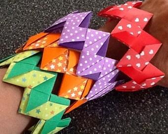 Origami Paper Bracelets - Waterproof