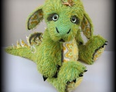 Soft Sculpture DRAGON PATTERN by Emma's Bears - Instant PDF
