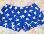 Wonder Woman cosplay hot pants, fairy kei 80s party roller derby Custom Size