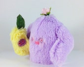 Mini Mad Eyed Monster Plush with Sproutling Baby