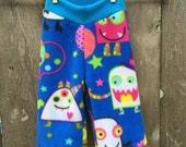 Party Monster Anti Pill Fleece Yoga Pants