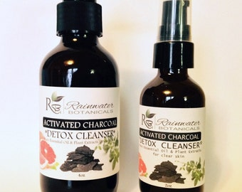 Activated Charcoal Detox Cleanser for Clear Skin