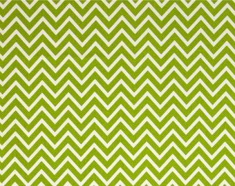 Destash Premier Prints GREEN COSMOS CHEVRON Zig Zag Fabric by the Yard. Home Decor Yardage. Modern Fabric for Bedding. Crafts. SewGracious