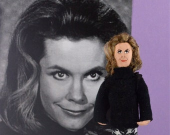 Elizabeth Montgomery Doll Miniature Historical Television Star