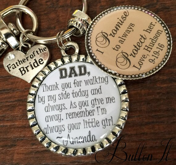FATHER of the BRIDE gift, PERSONALIZED gift, father of the groom gift ...