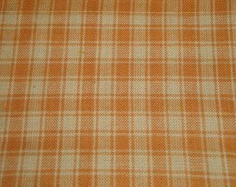 FLAWED Cotton Homespun Fabric | Plaid Fabric | Quilt Fabric | Home Decor Fabric | Craft Fabric | 45 x 44