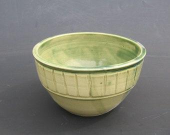 Wheel thrown Medieval style bowl