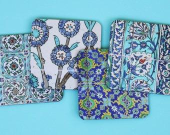 Tiles of Topkapi Coaster Set