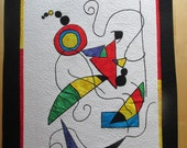 My Vision of Miro 1 wallhanging-REDUCED