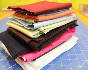 Fabric Destash Solid Colors