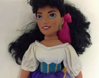 Vintage Disney Esmerelda Doll