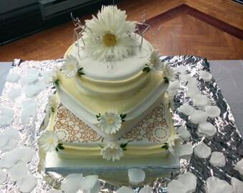 ARTISTS IN LOVE: Custom Artist Bride Poet Groom Wedding Cake Topper