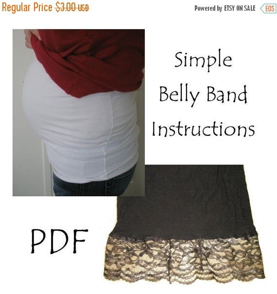 Belly Band Pattern by A Vision to Remember