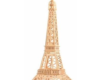 Eiffel Tower, Glued Puzzle