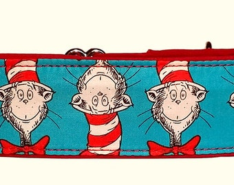 Cat in the Hat 2 Inch Martingale Collar-