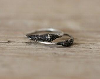 Silver Stacking Rings - Spora Rings