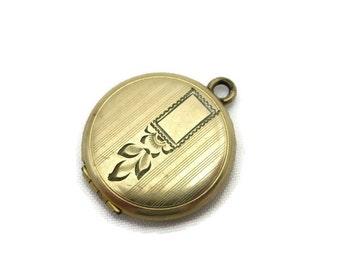 Antique Etched Locket  - Edwardian