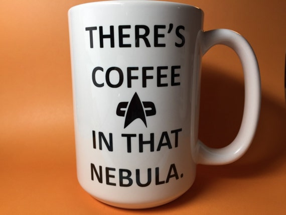 There's Coffee In that Nebula Mug | Star Trek Gift Guide