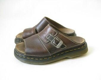 Vintage Doc Marten Chunky Buckle Sandals. Size 5 UK// Size 7 US