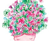 Spring Flower Head Archival art Print