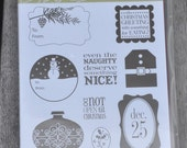 Tags Til Christmas Stampin' Up! Stamp Set