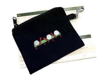 Golf Accessory Bag - Golf Balls and Tees - Golf Tee Bag