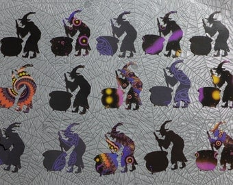 Fractal Witches Die Cuts