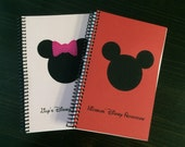 Personalized Minnie or Mickey Autograph Book